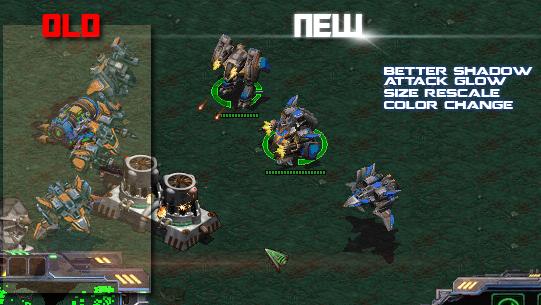 Graphic Rework  image - StarCraft: Burning Ground mod for