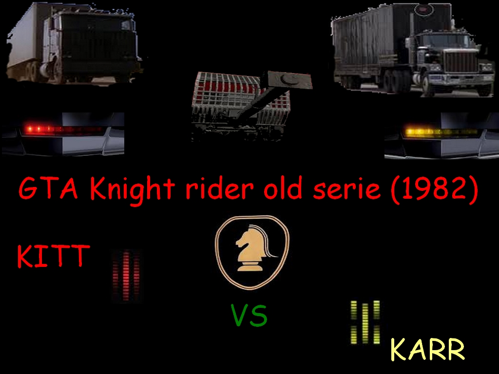GTA Knight rider old serie (1982) mod for Grand Theft Auto: San