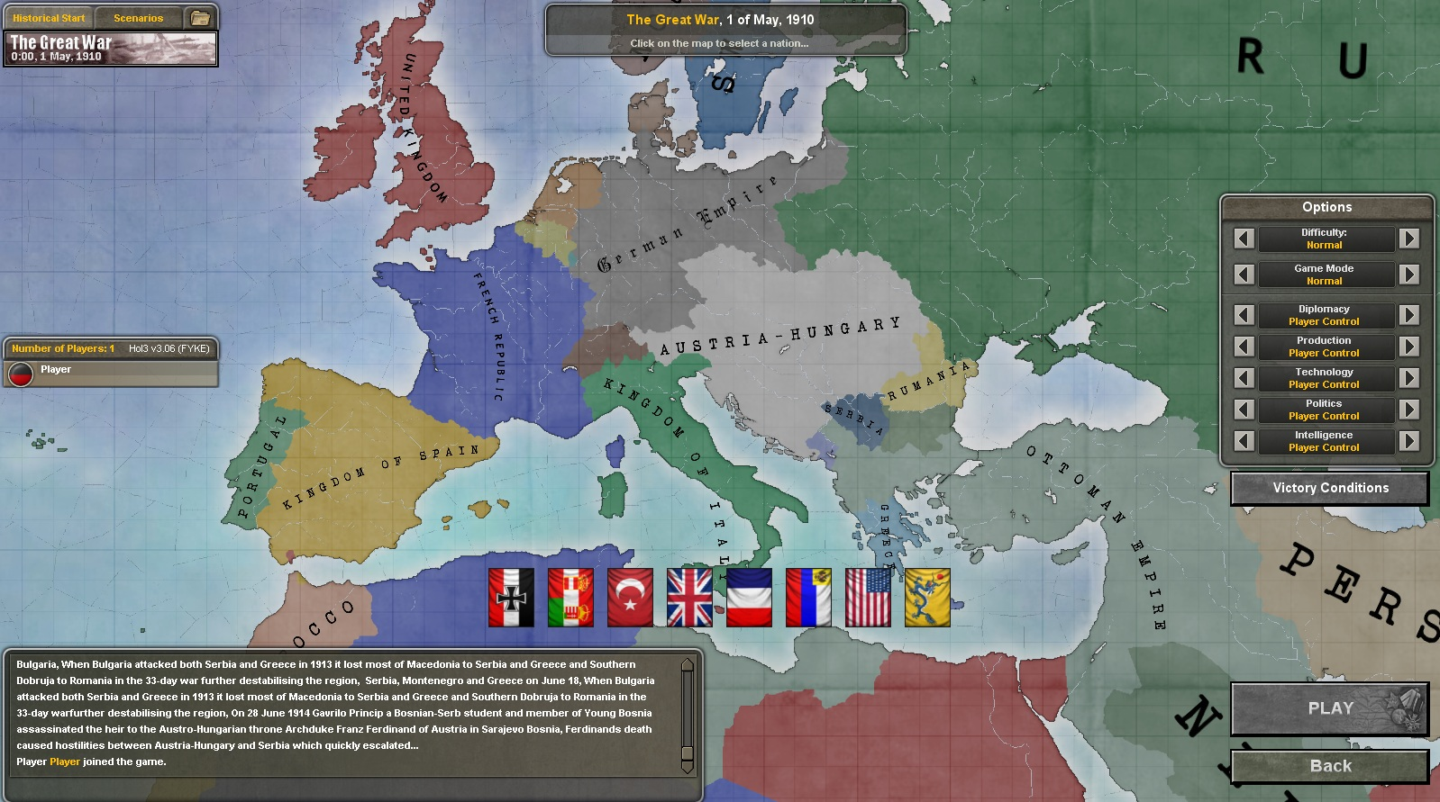 Europe 1910 image world war 1 mod for hearts of iron iii mod db original gumiabroncs Image collections