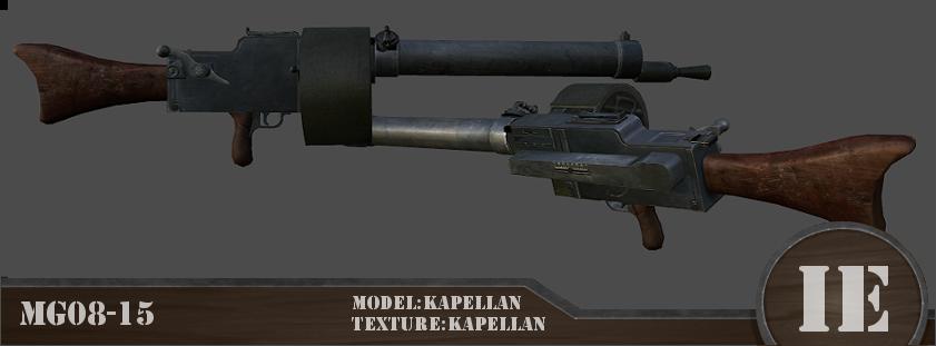 MG08-15 image - Iron Europe - WW1 Mod for Mount & Blade Warband