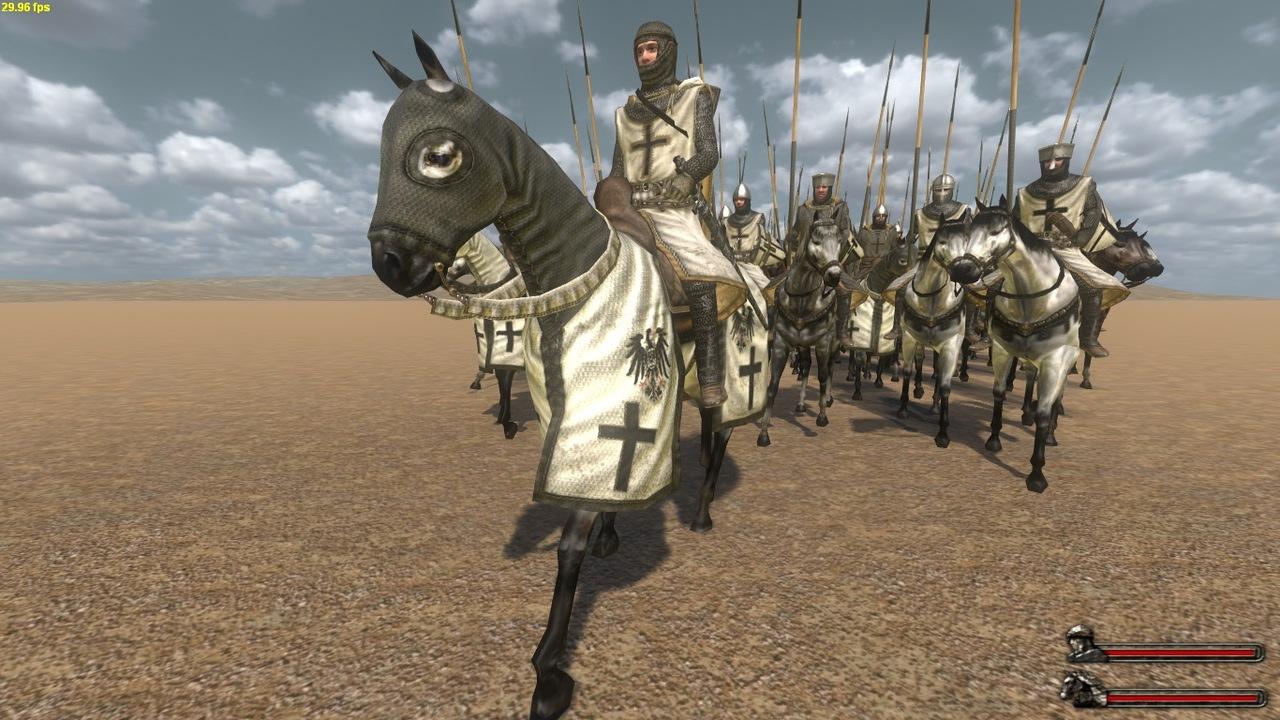 Crusader- Deus Vult mod for Mount & Blade Warband