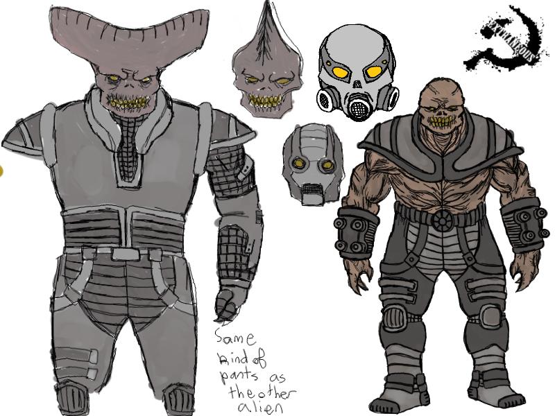 Alien Concept Art Image Extraneous Mod For Half Life 2 Episode Two Mod Db