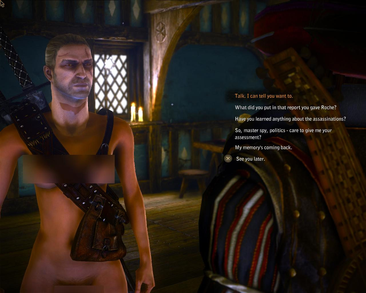 Witcher 2 nudity mod naked tube