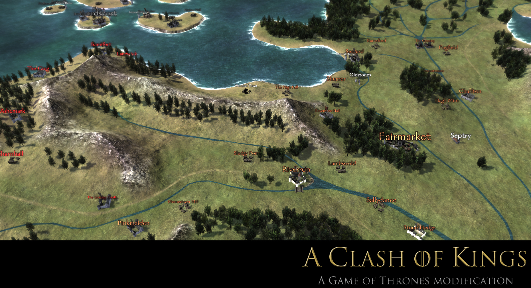 World Map Image A Clash Of Kings Game Of Thrones Mod For Mount