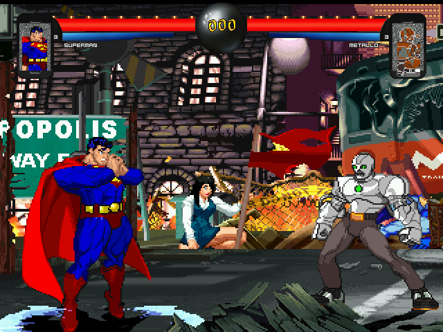 DC vs Marvel (Fan made game for comic book fans)