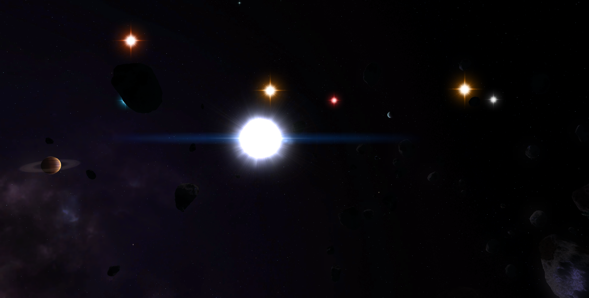 planets and moons stars - photo #31