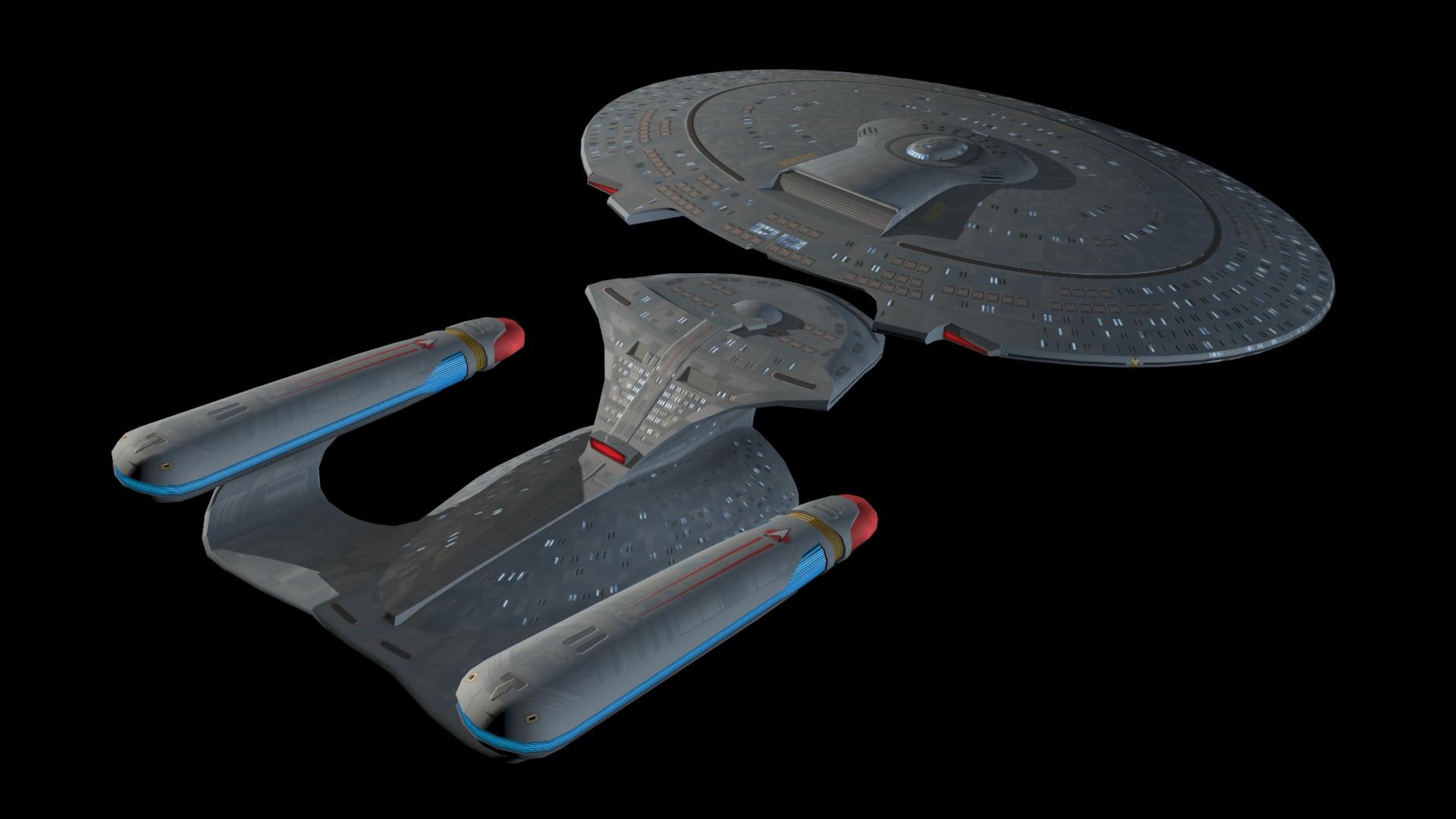 Galaxy class Saucer Seperation image - Star Trek: Armada 3 ...