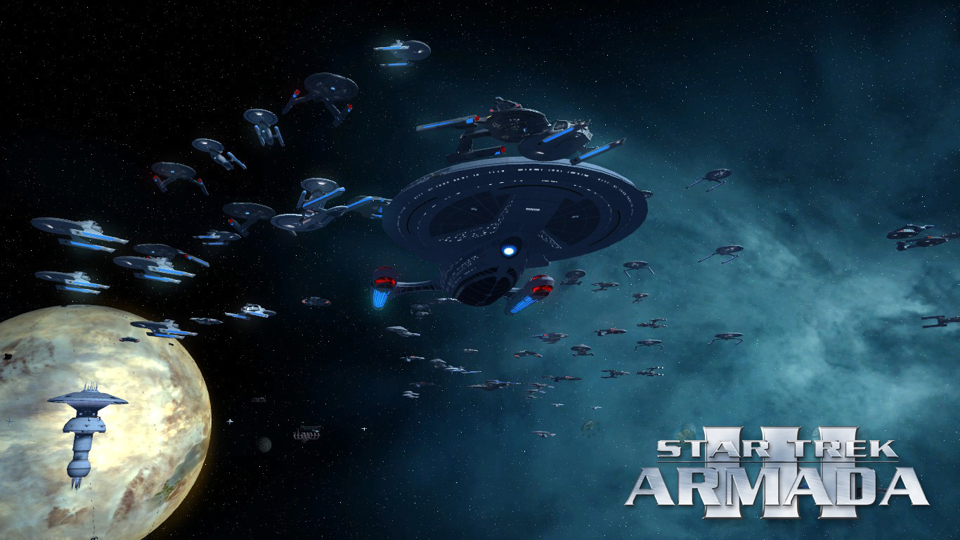 Sta 3 Fed Wallpaper Image Star Trek Armada 3 Mod For Sins Of A