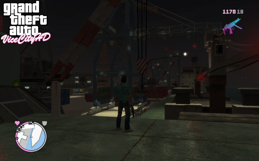 VCHD Screenshots image - GTA: Vice City HD mod for Grand