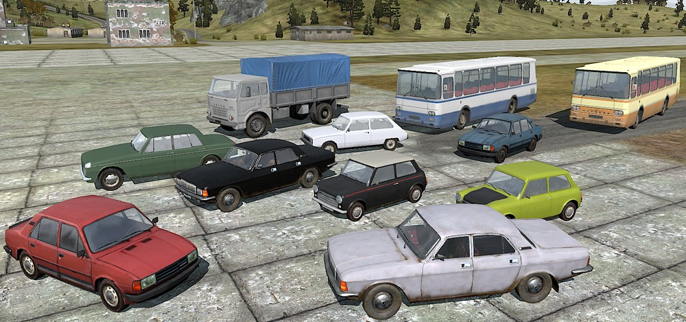 some cars from my mod added recently in dec 2013 image vilas addons and project 85 addons mod. Black Bedroom Furniture Sets. Home Design Ideas