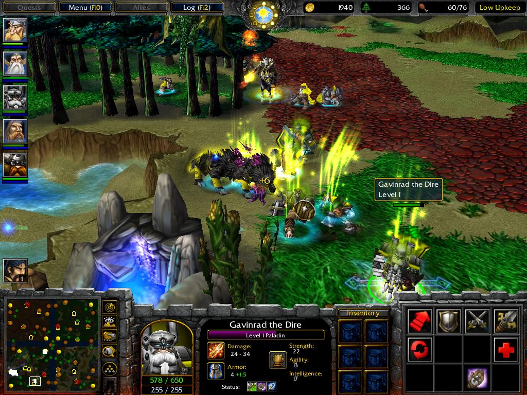скачать игру World Of Warcraft 3 Frozen Throne через торрент - фото 8