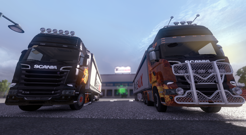 ETS2MP - DLC Paintjobs testing image - Euro Truck ...