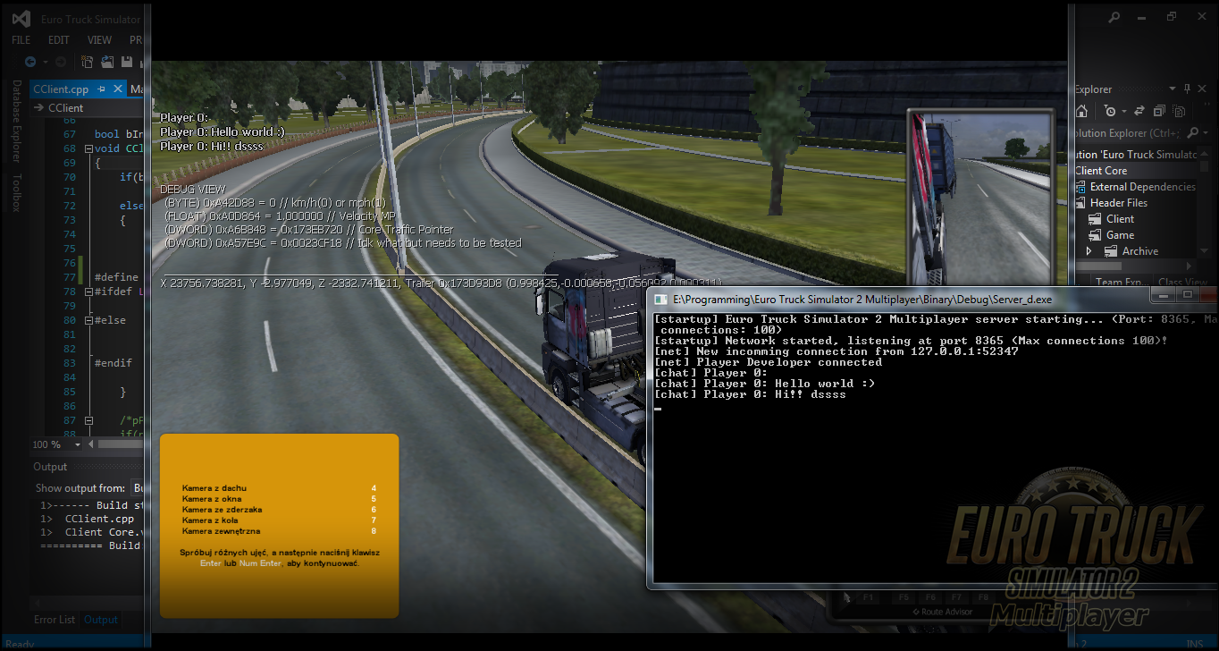ETS2MP Network code and chat image - Euro Truck Simulator ...