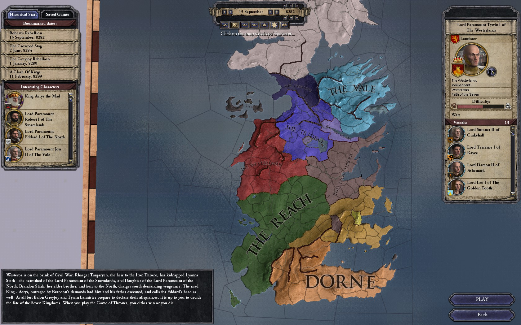 The Seven Kingdoms Image Crusader Kings 2 A Game Of