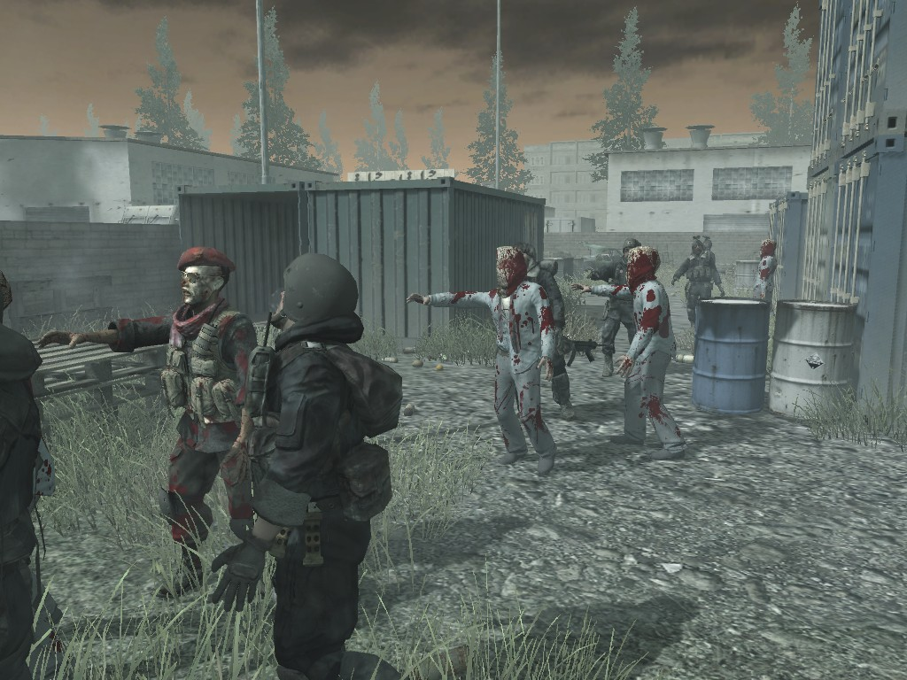 RoZo) Return Of Zombie Ops mod for Call of Duty 4: Modern