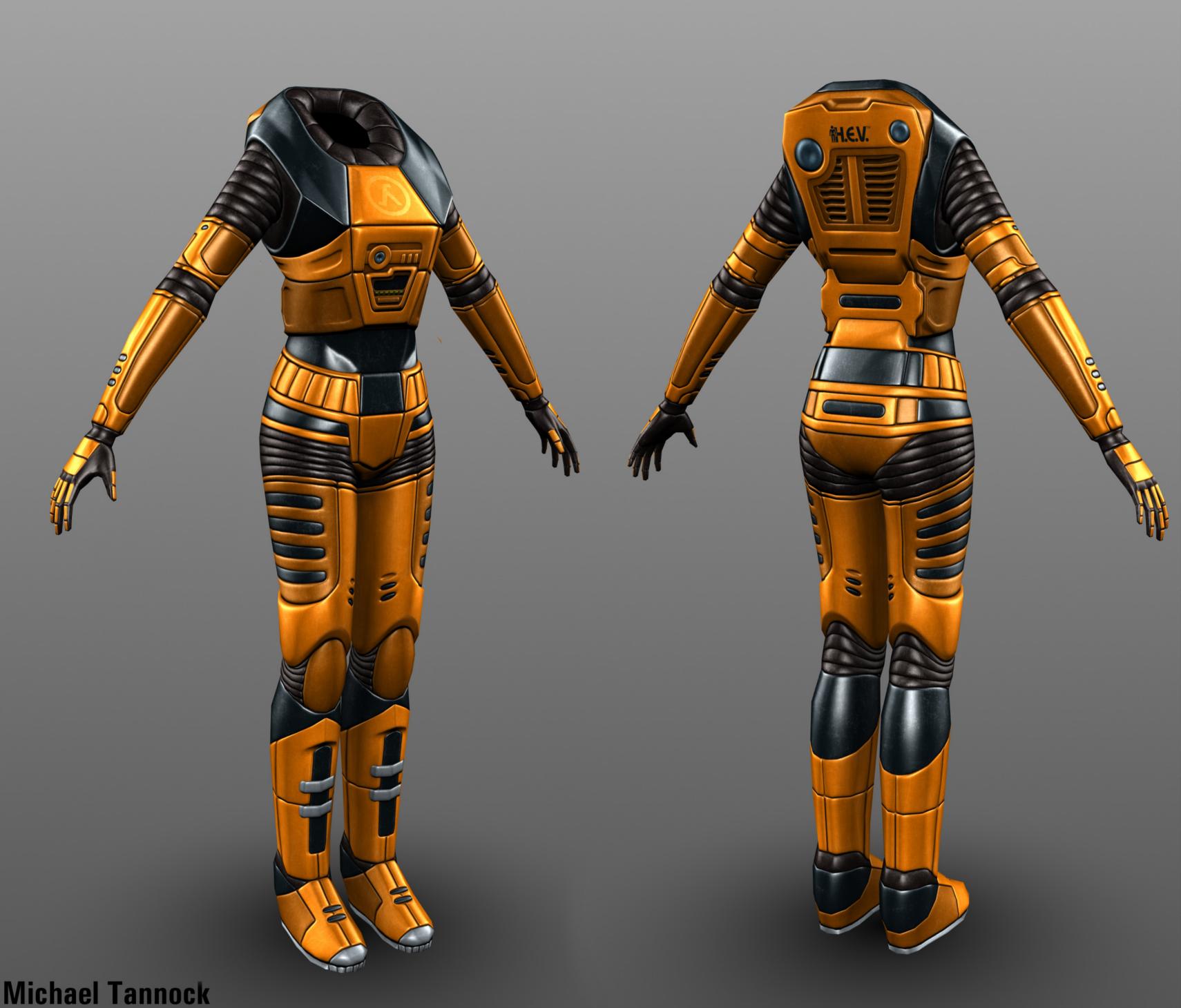 Female HEV Suit imag…