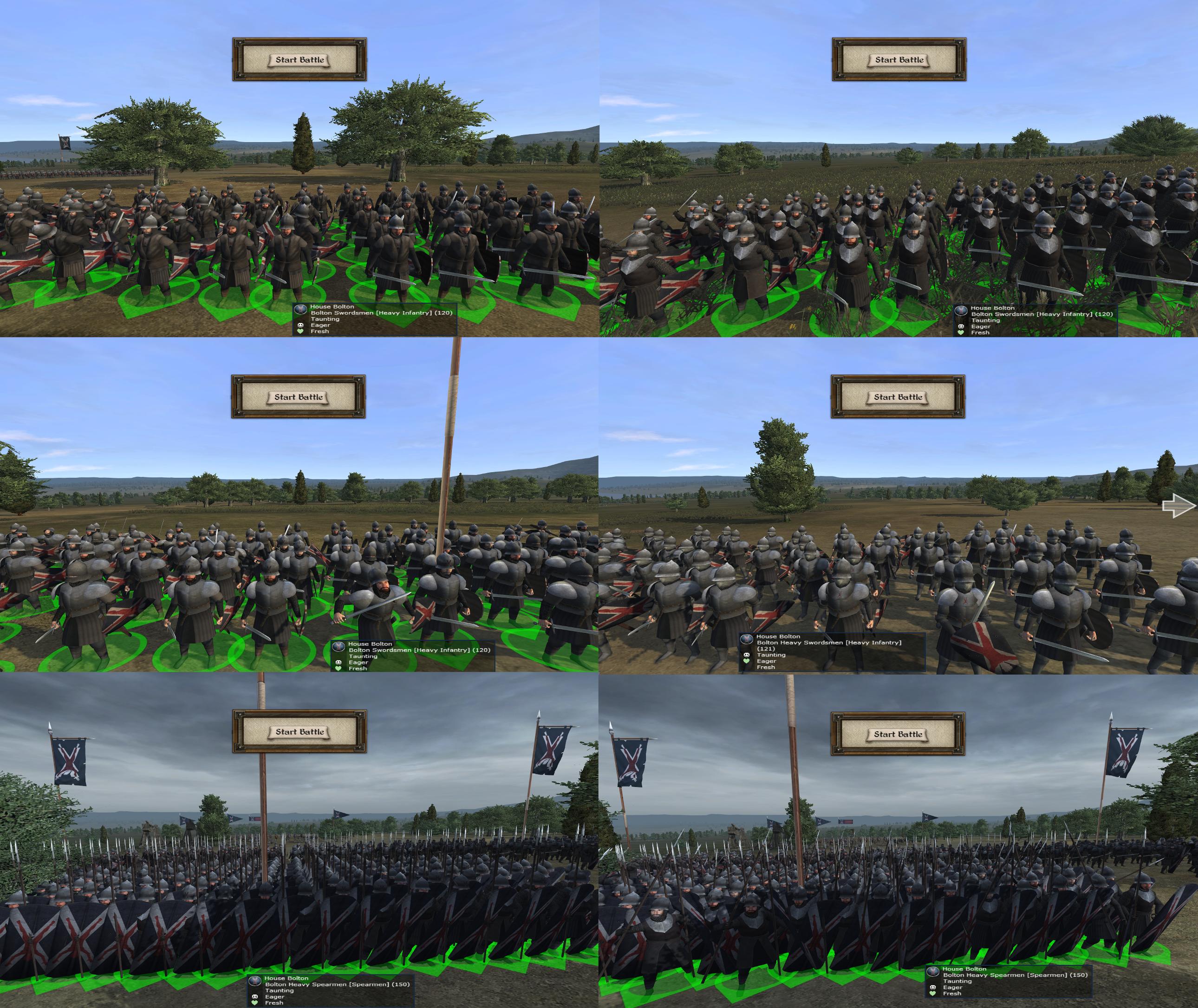 Bolton Swordsmen/Heavy Swordsmen/Spearmen Updated!
