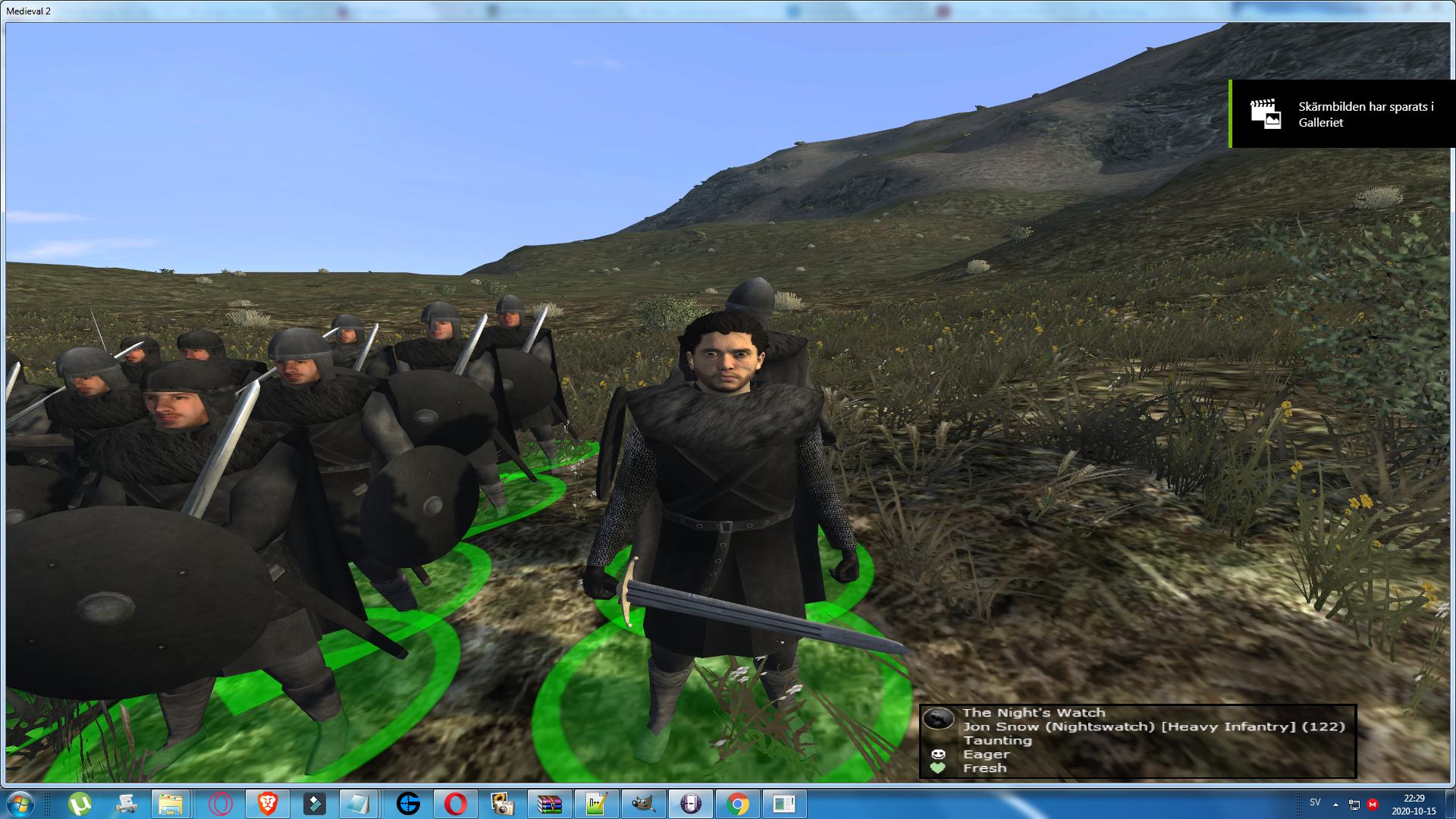 Jon Snow of the Nights Watch has been added as a custom hero!