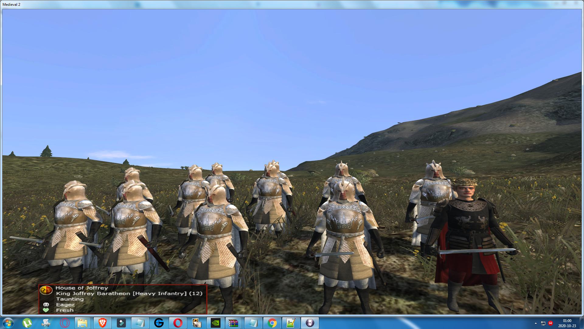 King Joffrey Baratheon hero model updated!