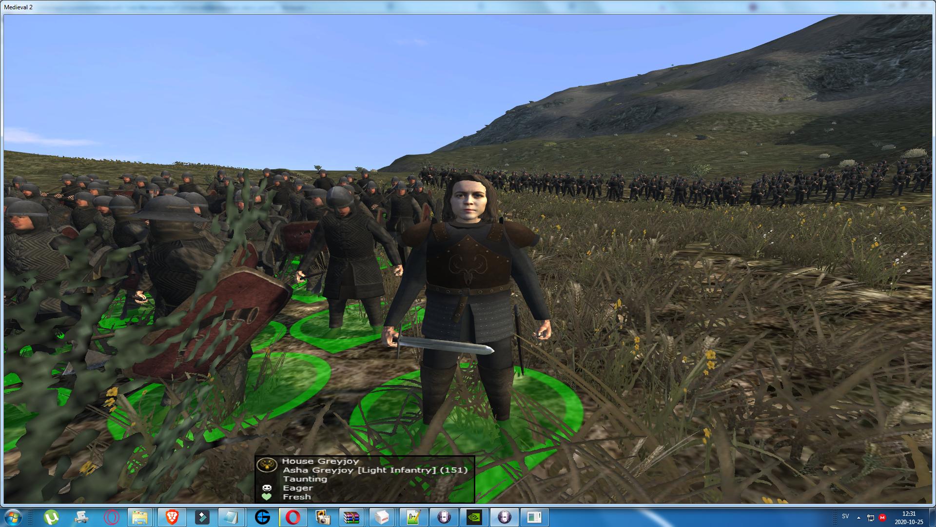 Asha Greyjoy added as a new hero to the mod!