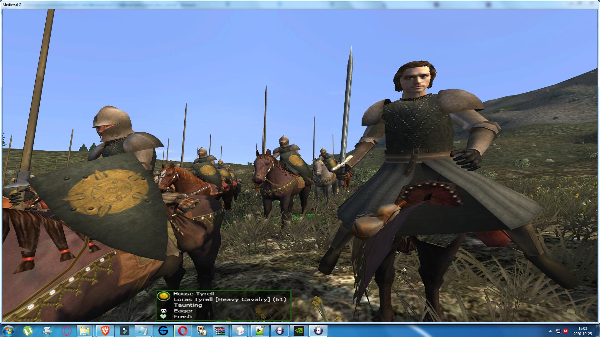 Sir Loras Tyrell has been added as a new custom hero!