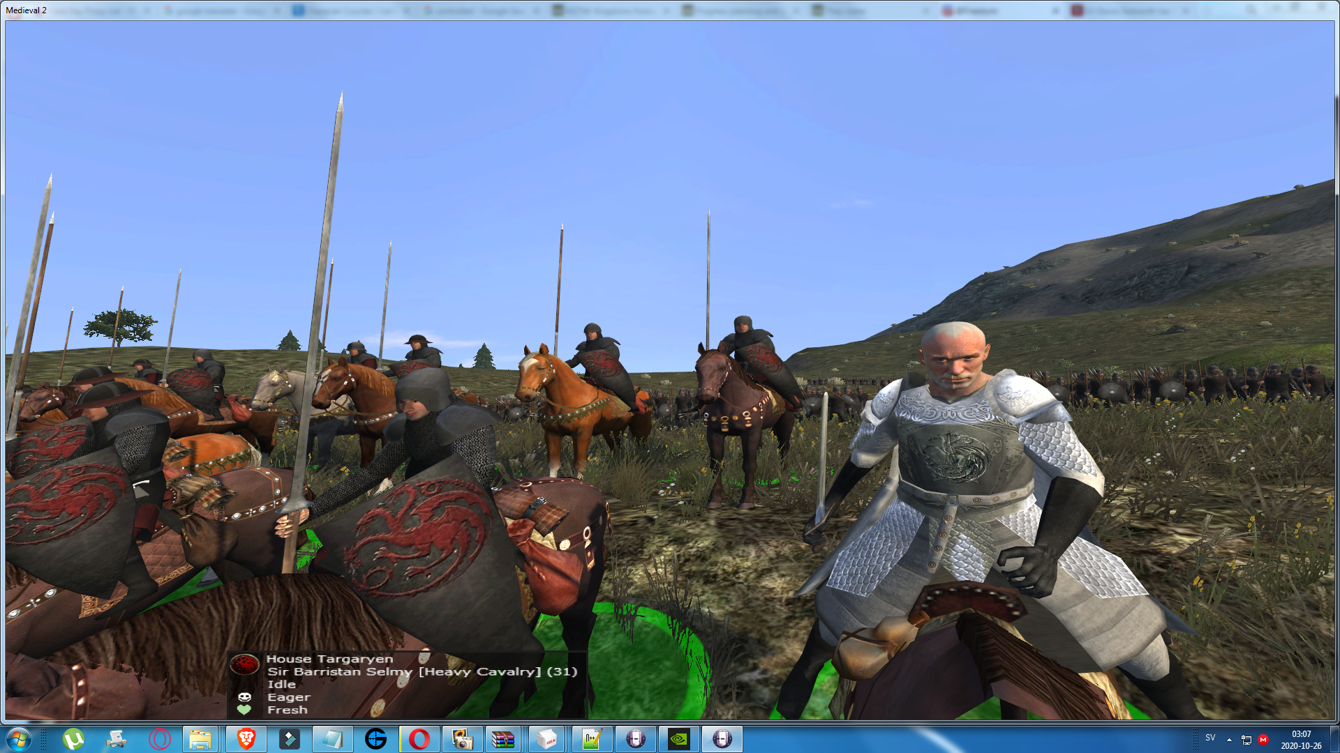Sir Barristan Selmy has been added as a new hero to the mod!