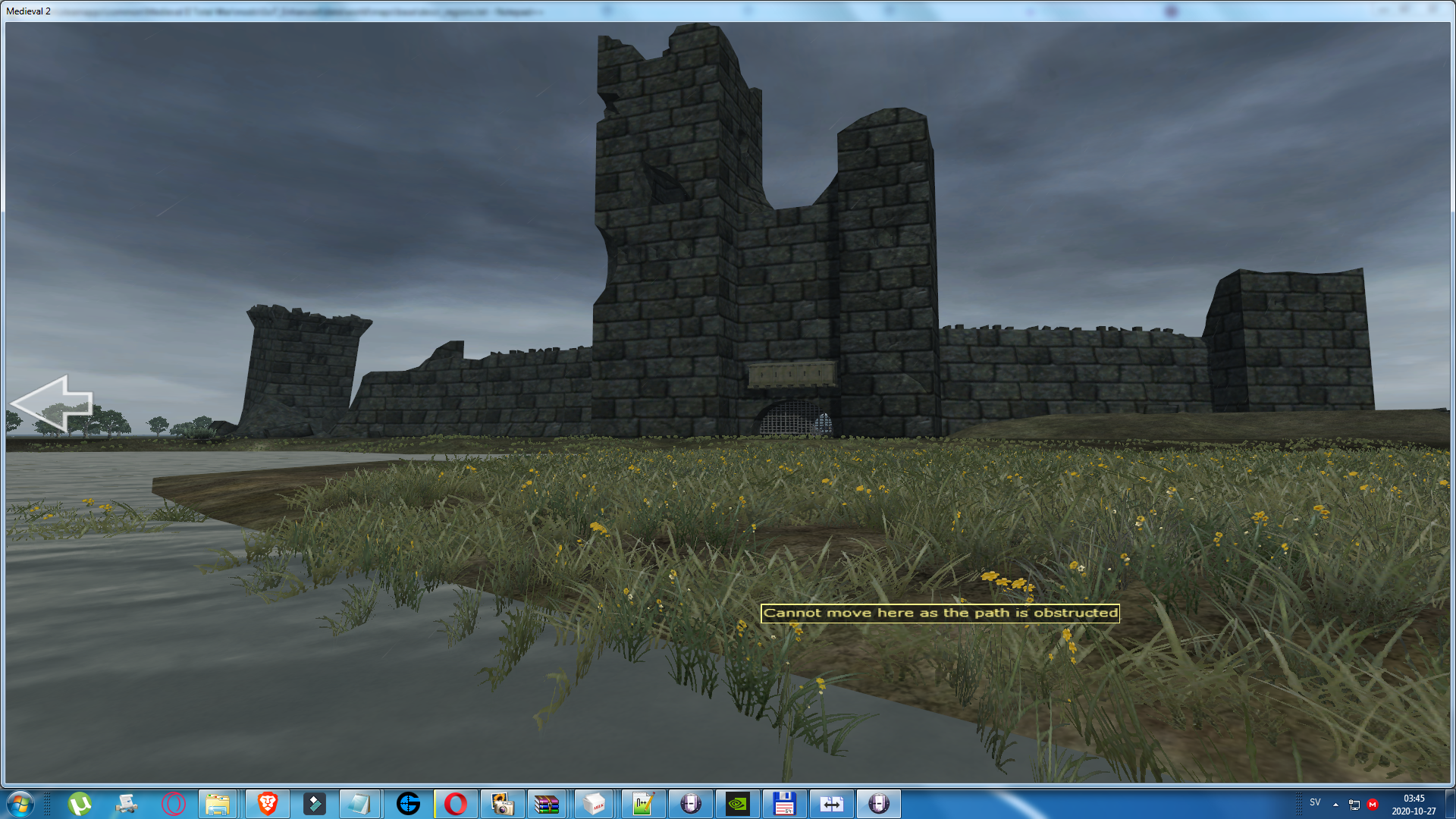 Moat Cailin Custom settlement made by Makayane finally works!