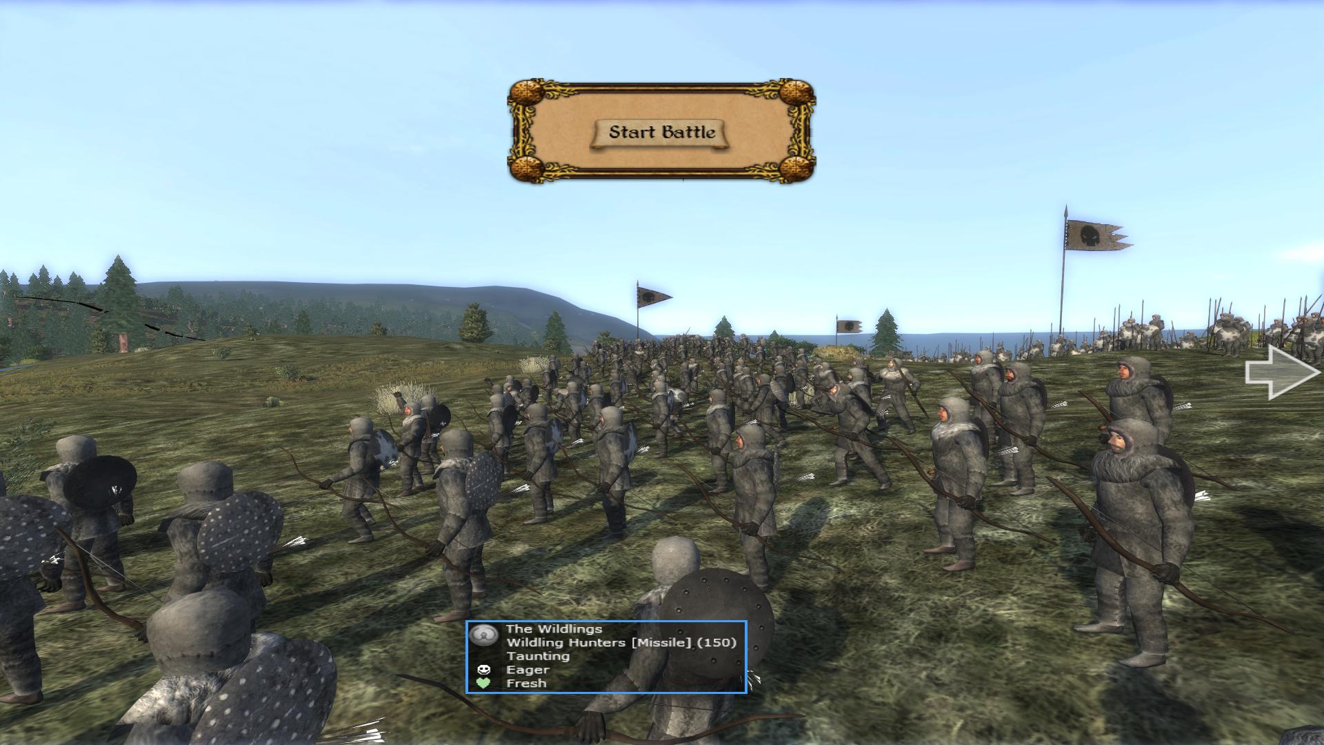 Wildling Hunters (Bowmen)