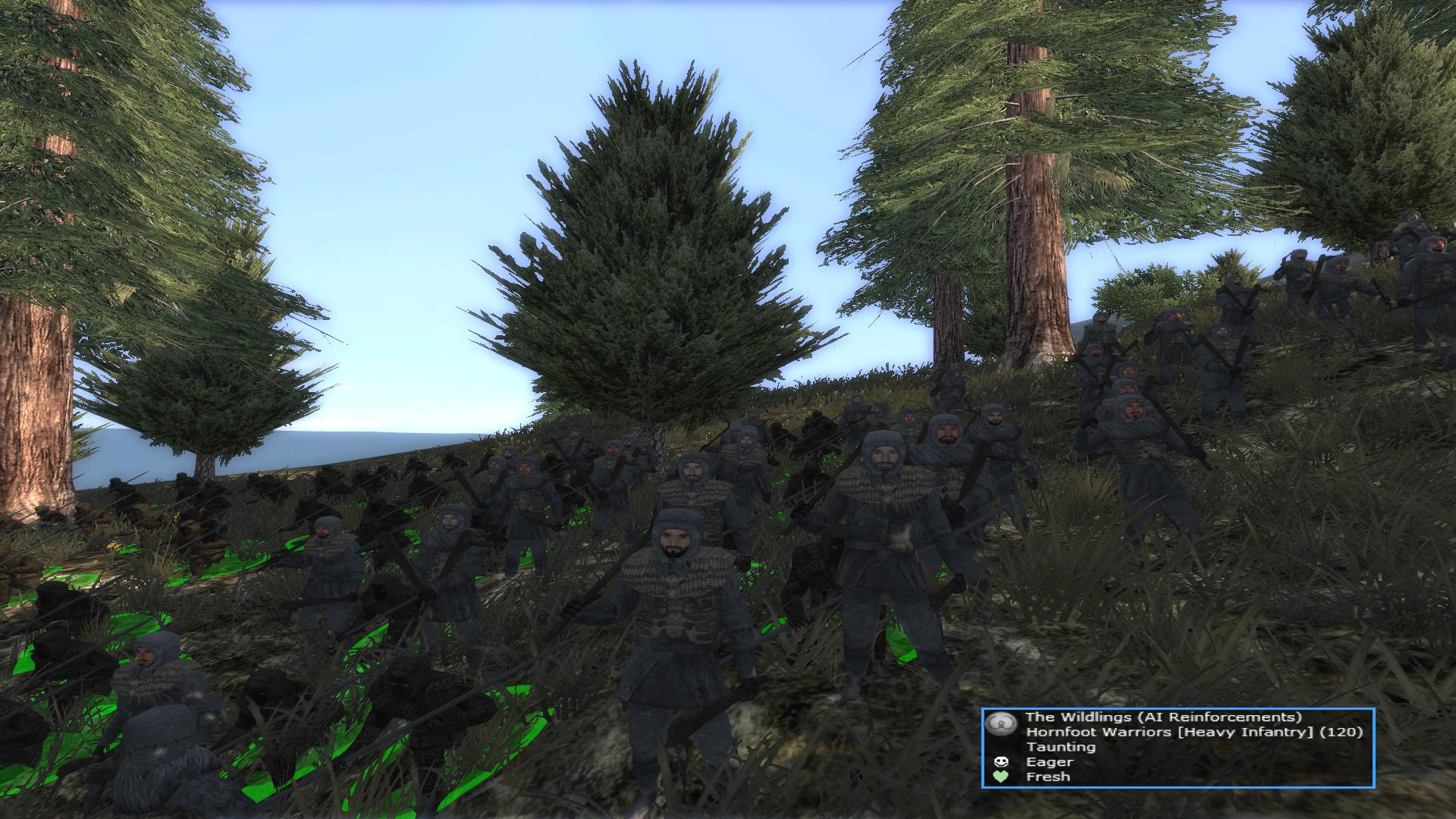 Hornfoot Warriors (By Firestorm)