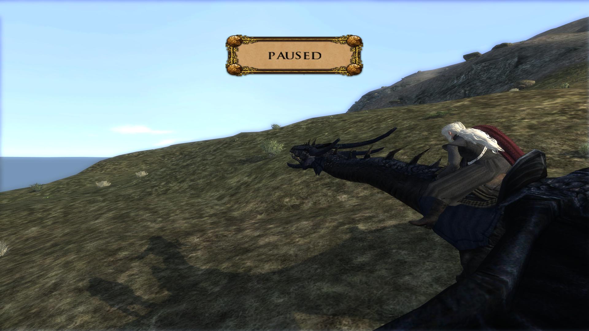 Daenarys Stormborn on a dragon?