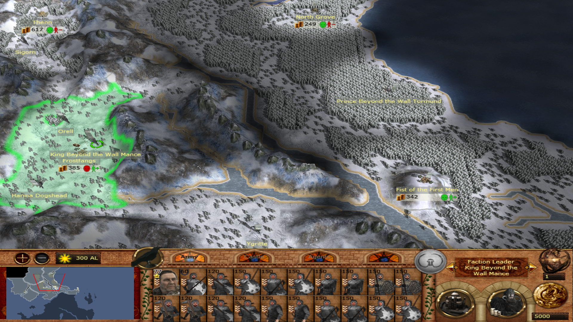 Wildlings strat-models added to the campaign!