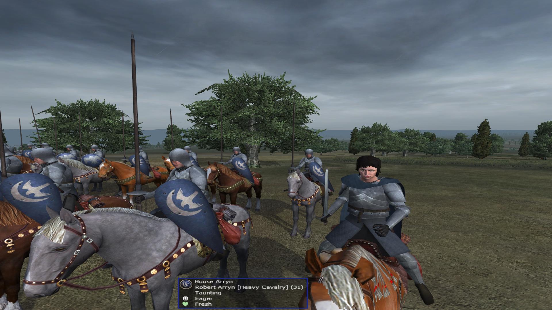 Robert Arryn, the leader of House Arryn has been added!
