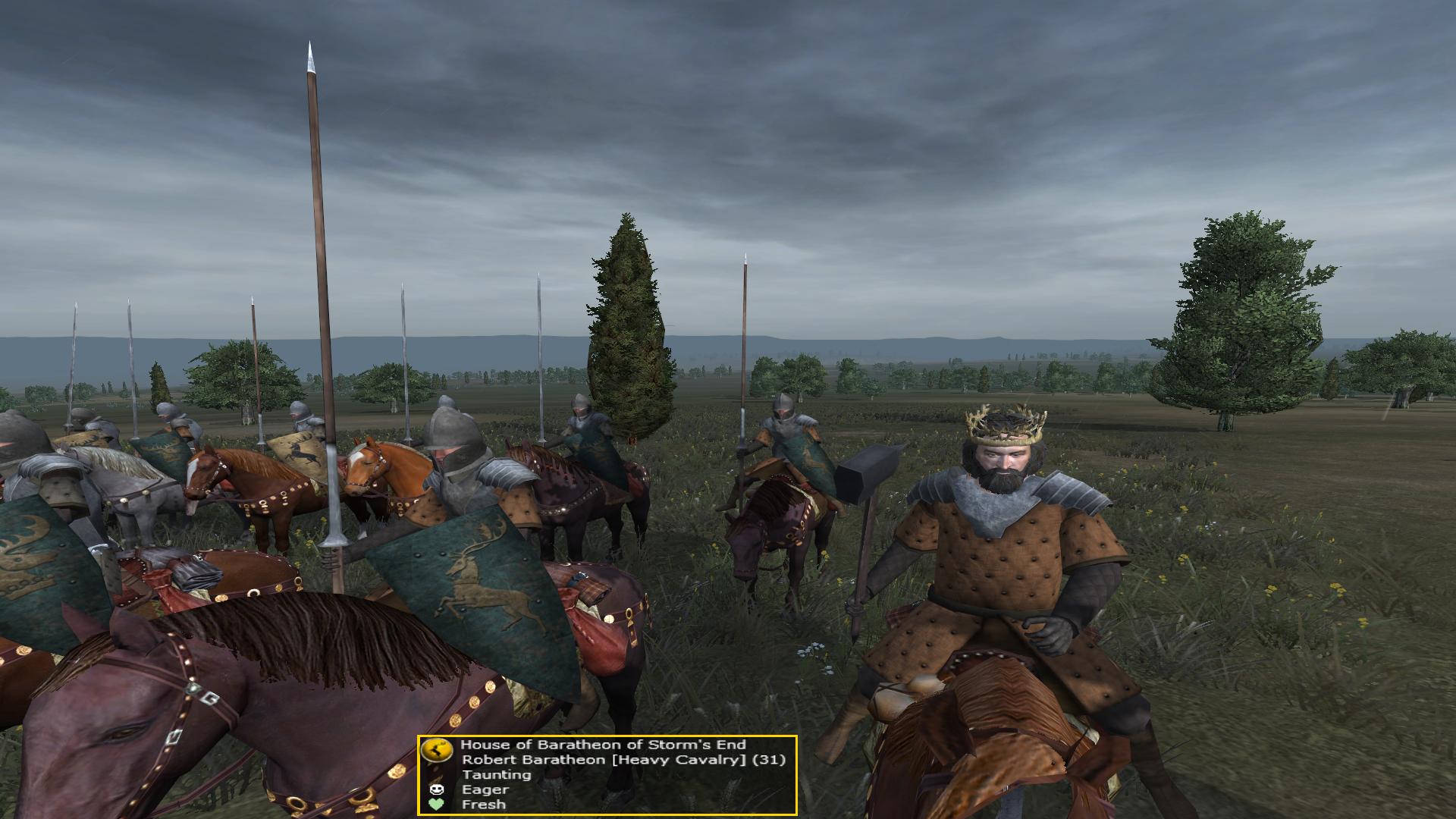 King Robert Baratheon added to the custom battles as a new hero!