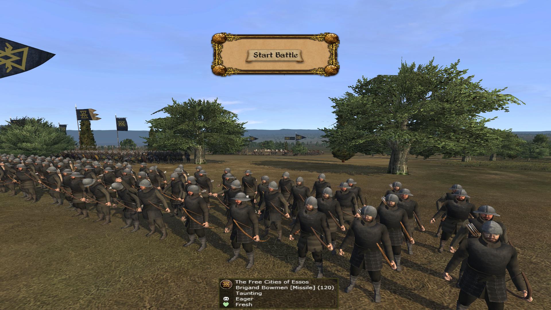 Brigand Bowmen of the Free Cities of Essos.