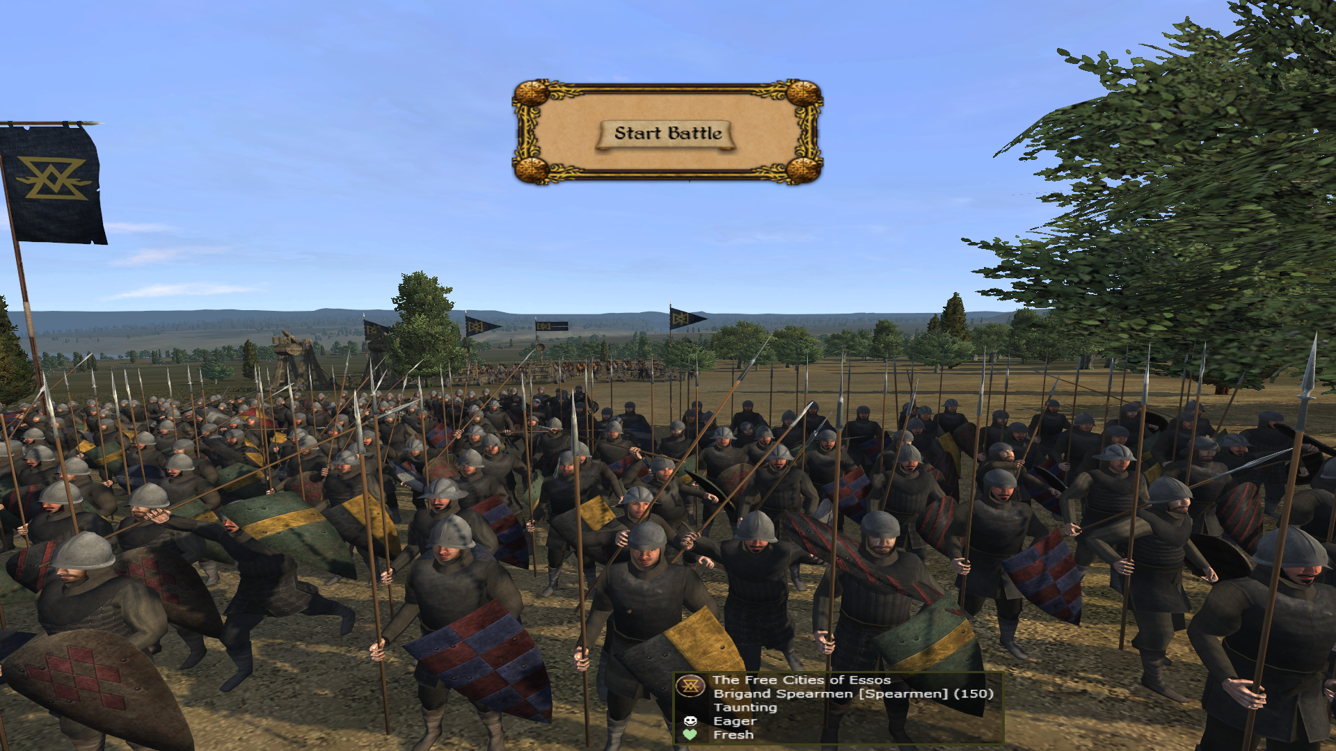 Brigand Spearmen a new unit for the Free Cities of Essos.