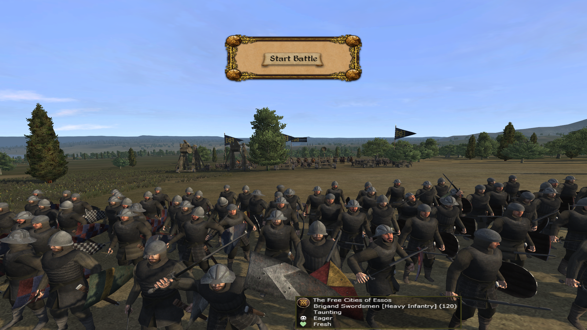 Brigand Swordsmen added to the Free Cities of Essos.