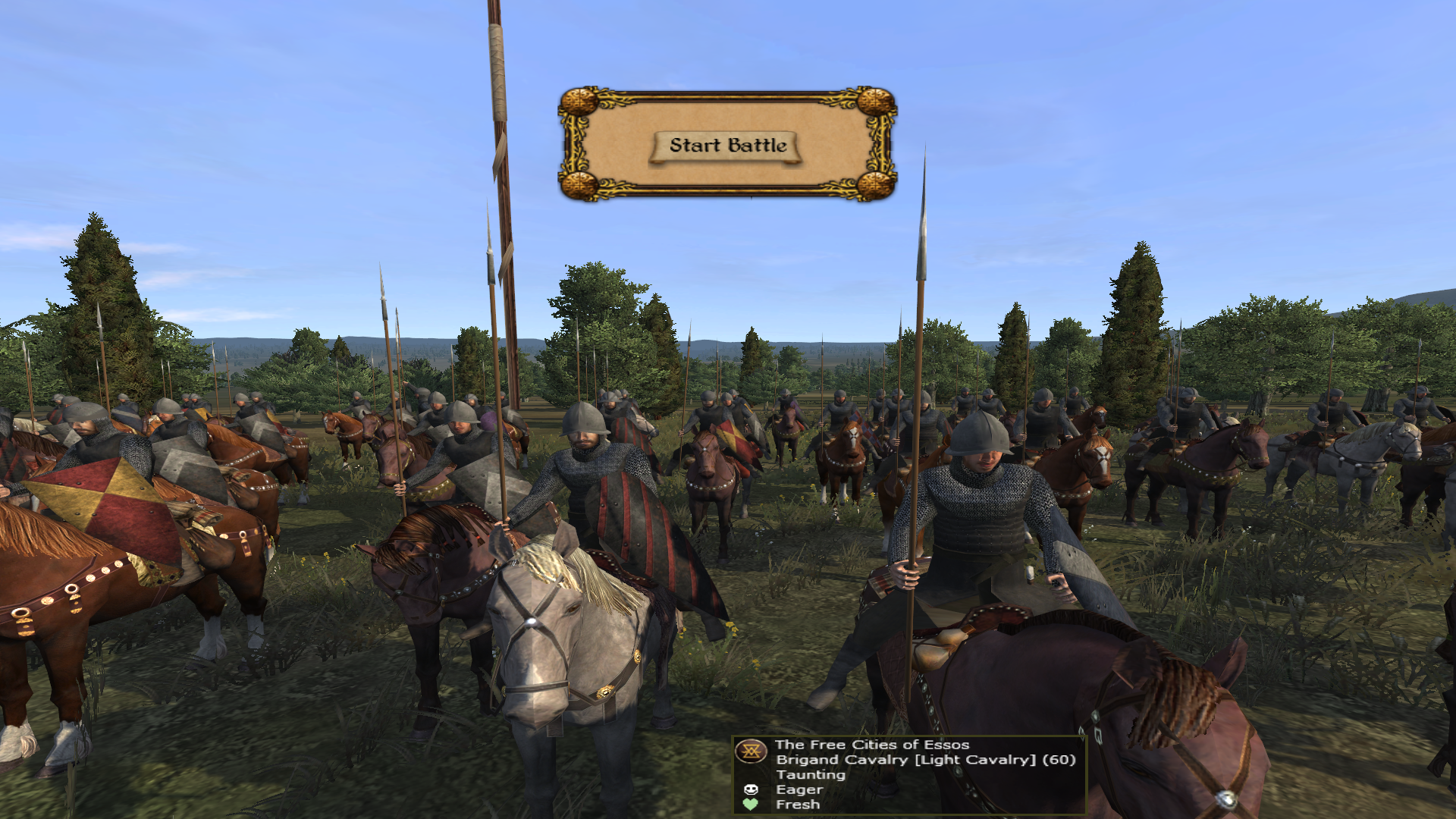 Brigand Cavalry added to the Free Cities of Essos.