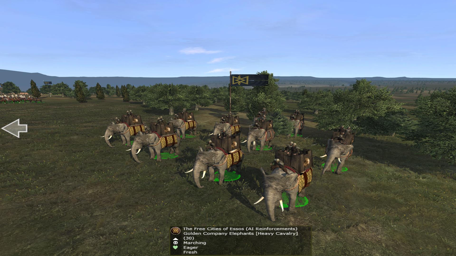 New updated Golden Company Elephants!
