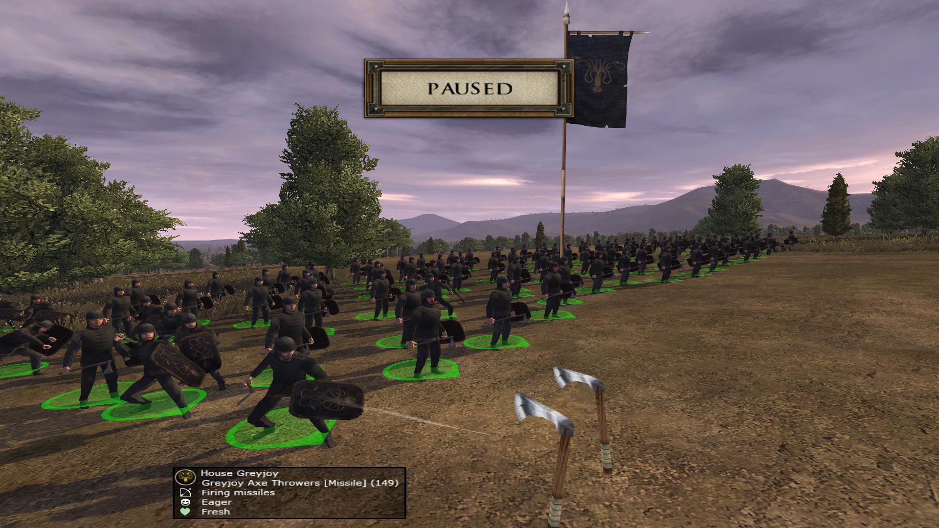Greyjoy Axe Throwers a new unit for House Greyjoy!