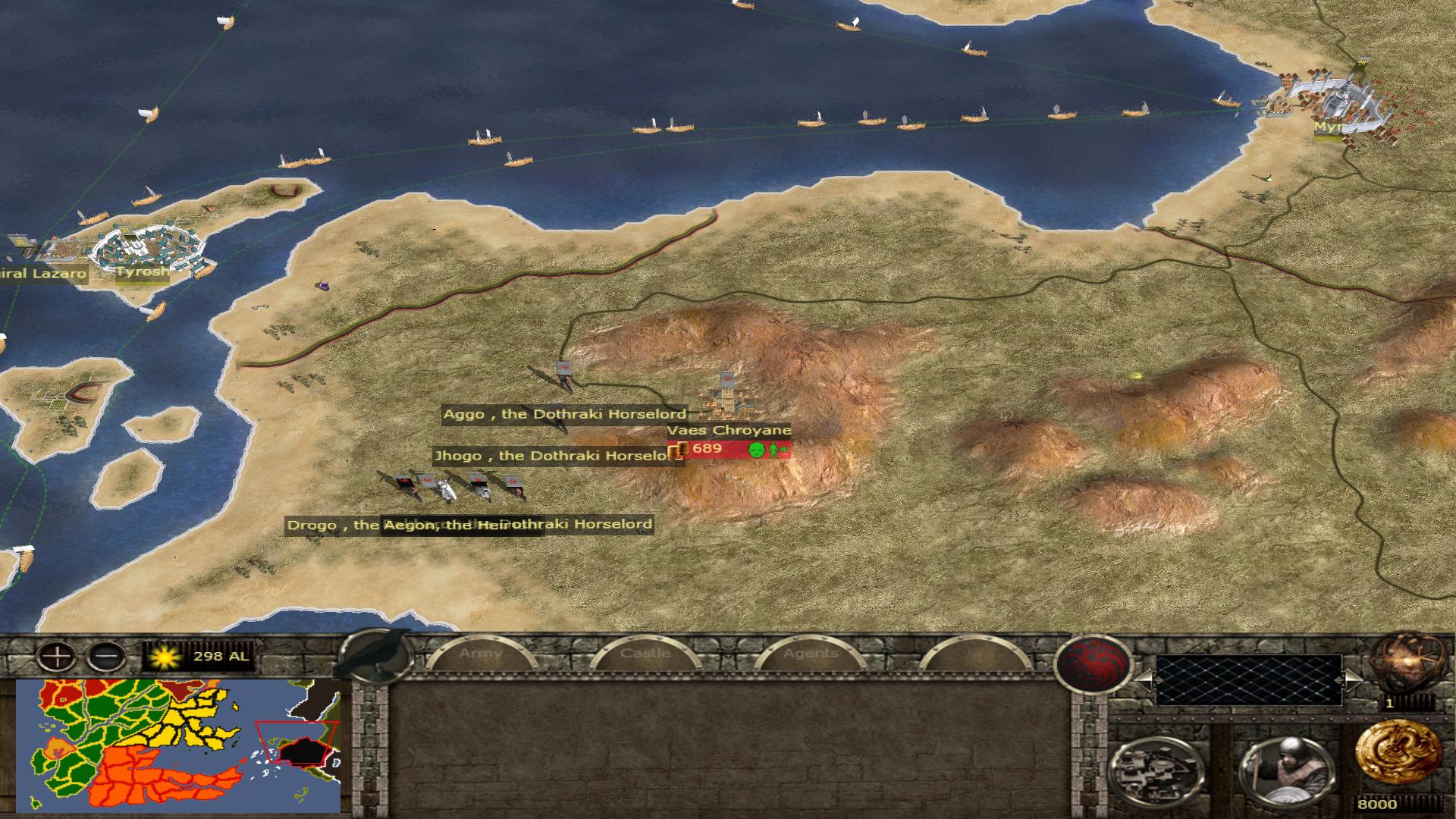 House Targaryen strat-map preview!