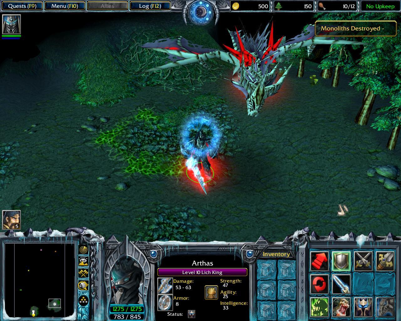 Warcraft 3 Options