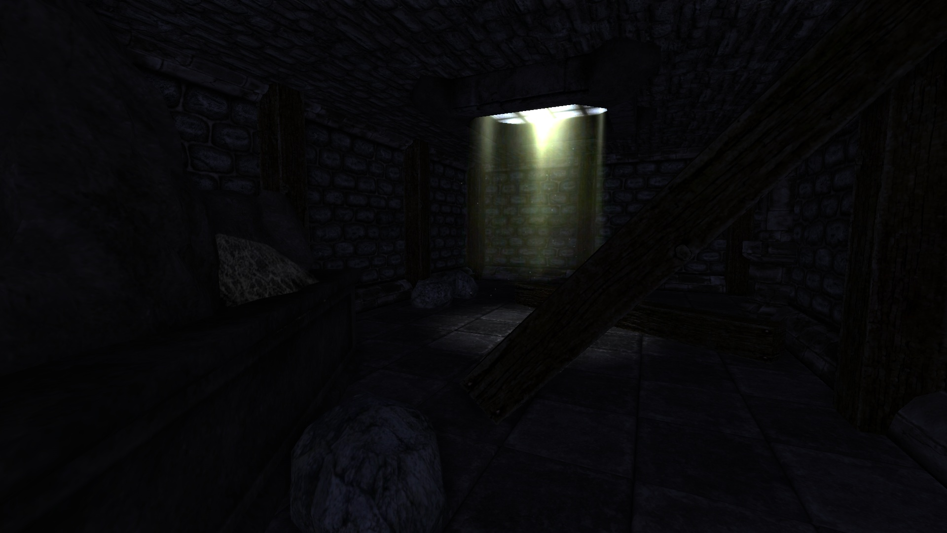 Dream Sequence 1 Abandoned Castle Hallway Image The