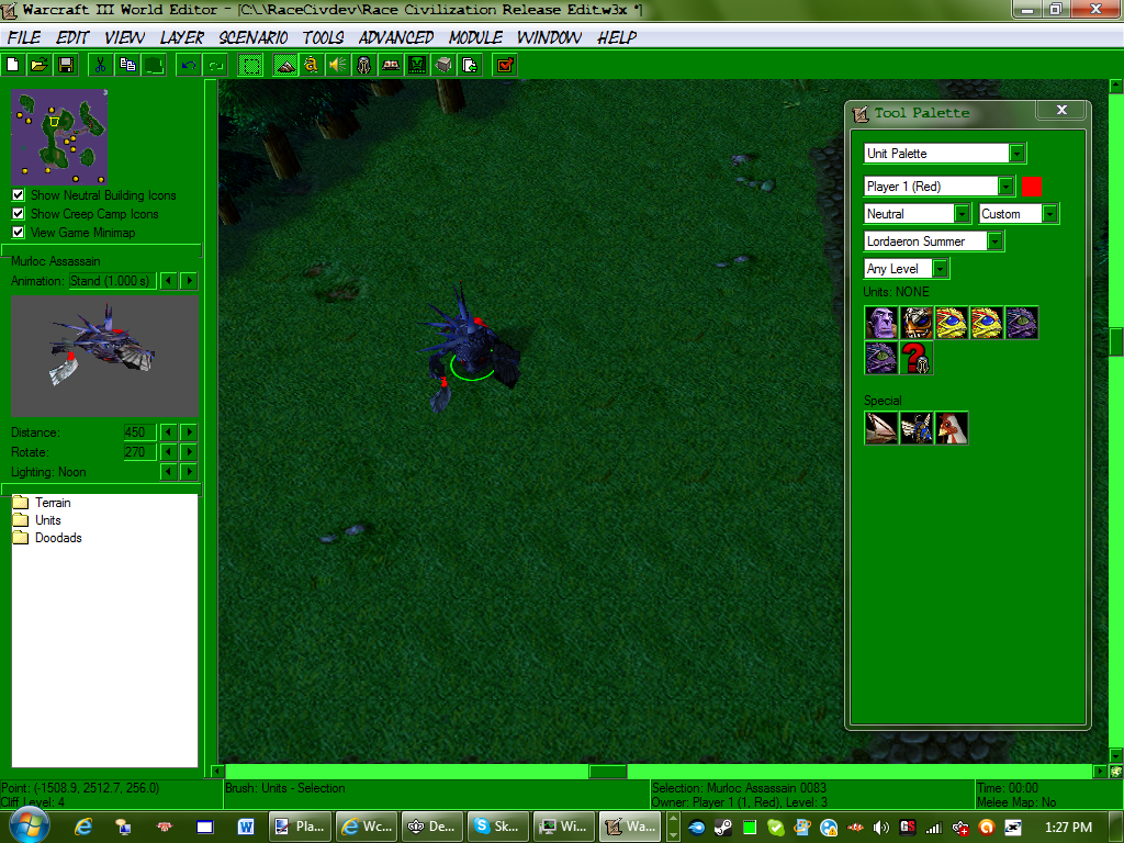 Murloc assassain in editor image race civilization mod for editor view original publicscrutiny Images