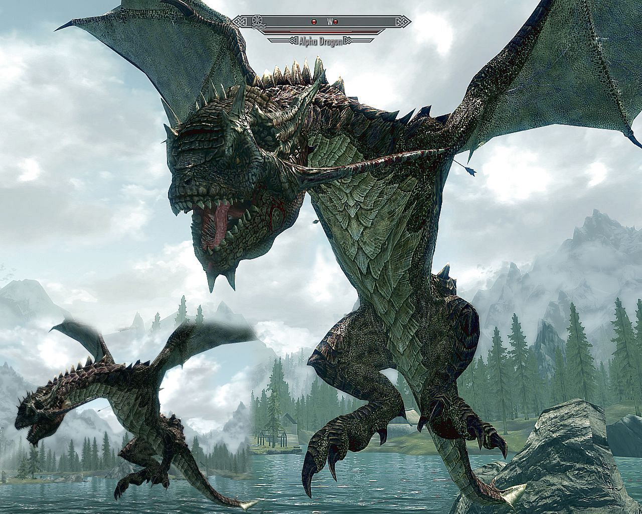Skyrim Dragon: SkyMoMod V13 For Elder Scrolls V