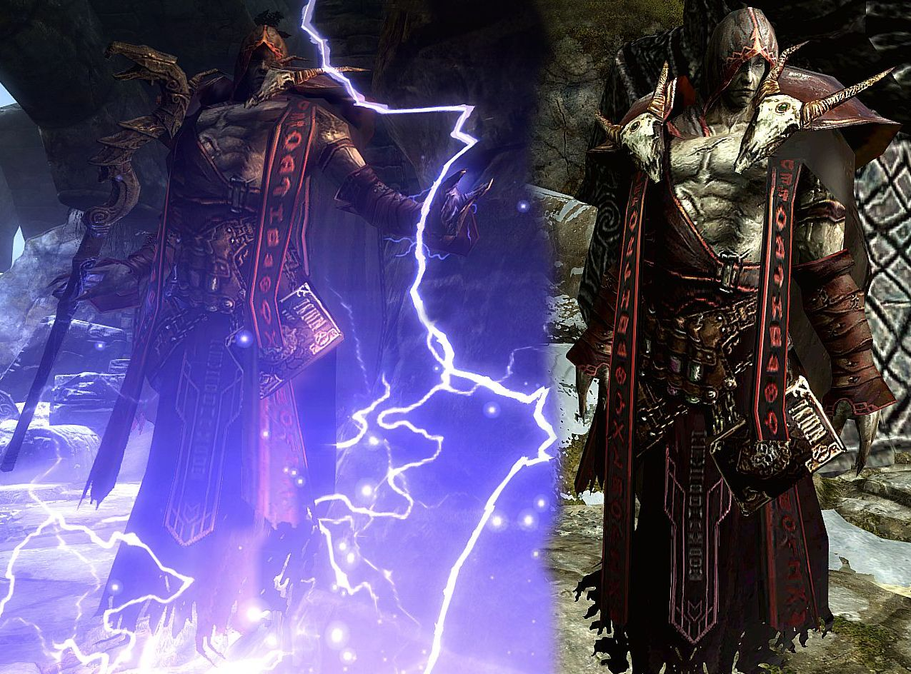 Elementalist armor