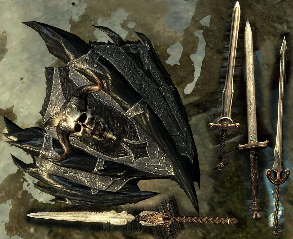 New Weapons Image Skymomod V13 For Elder Scrolls V Skyrim Mod Db