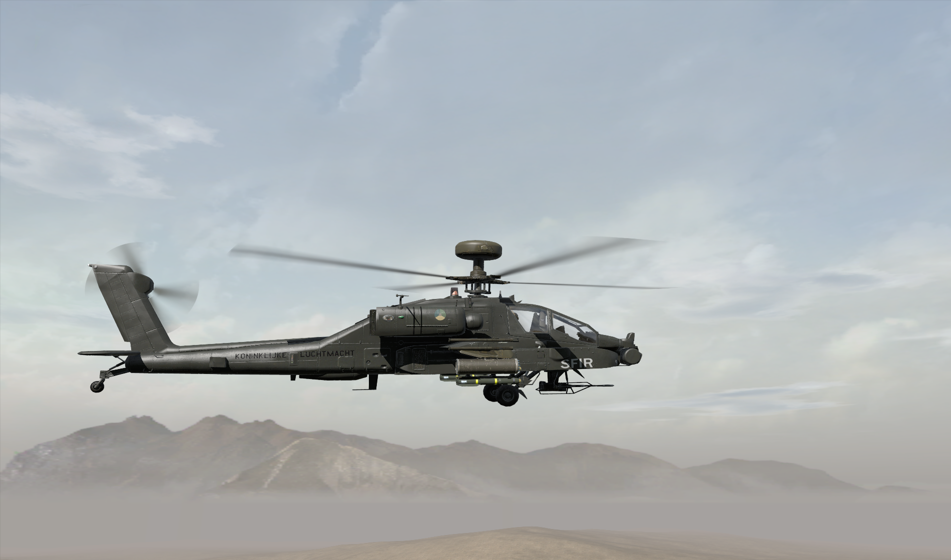 DAF v0.925 AH64D Apache