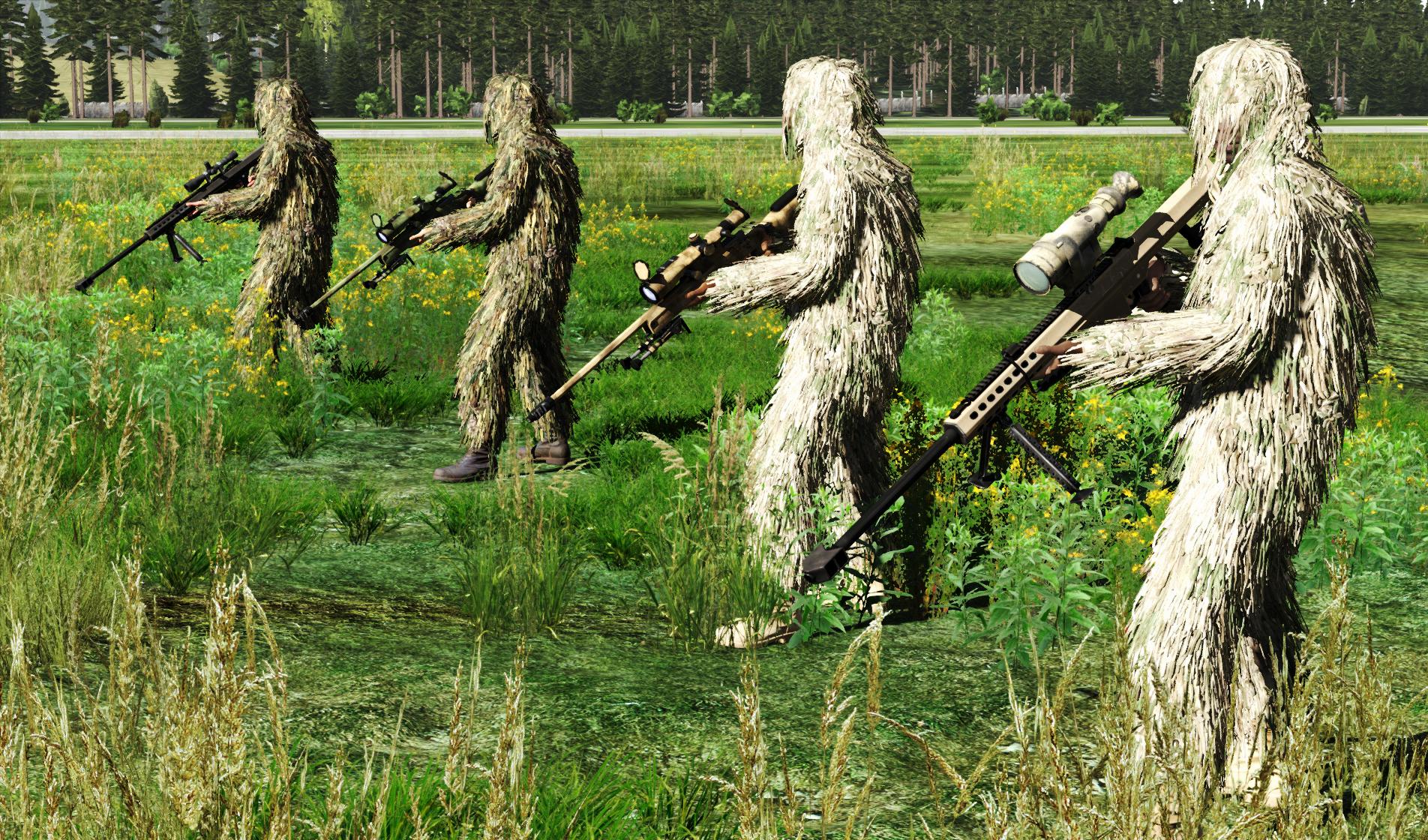 Dutch Armed Forces v0.944 Sniper M107