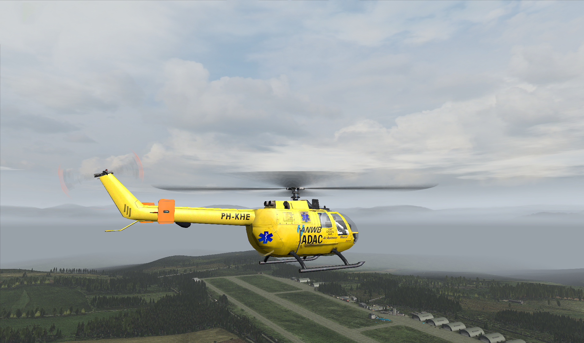 Dutch Armed Forces v0.96 BO105