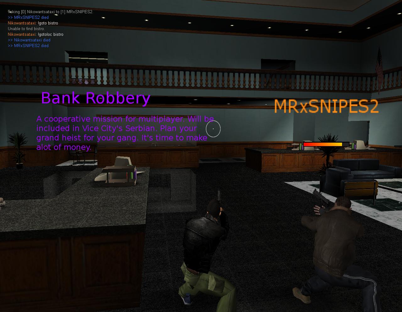 bank robbery gta vice city